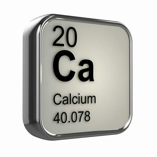 calcio simbolo mineral