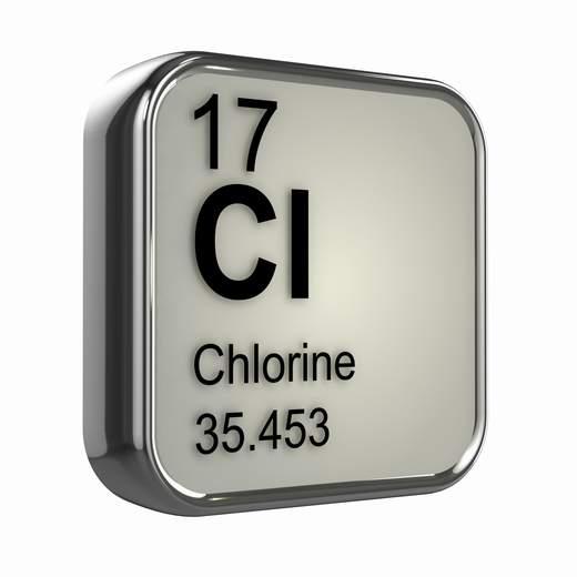cloro simbolo mineral quimico