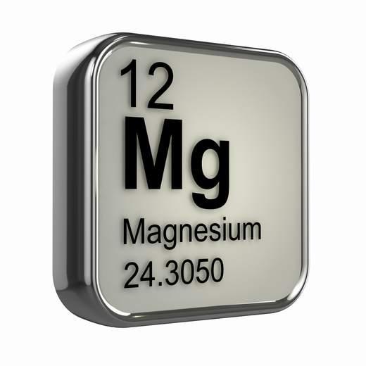 magnesio simbolo mineral