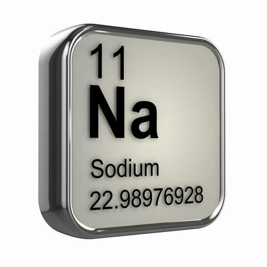 elemento sodio mineral