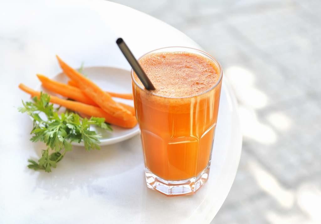 zumo de zanahoria